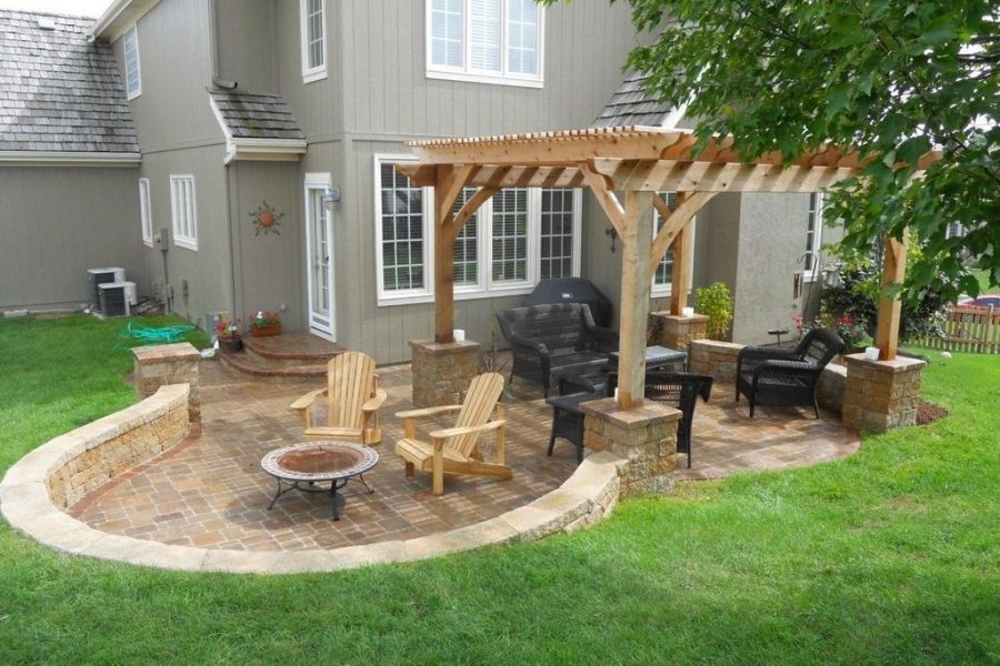 Creative ideas for backyard landscape