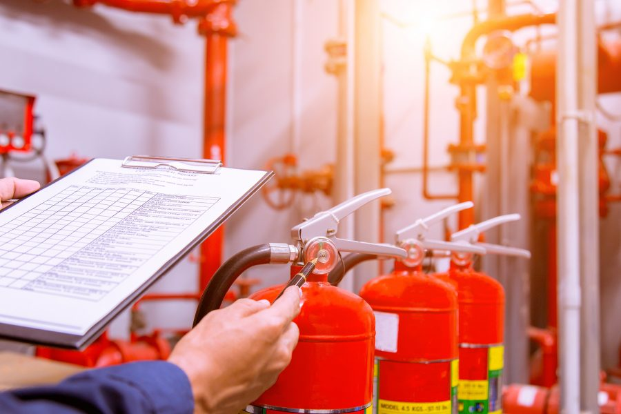 Making the most of your fire extinguishing system
